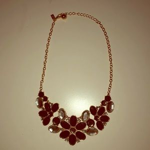 Kate Spade statement bib necklace